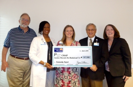 United Way of Coastal Georgia Awarding Grant to CMAP